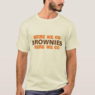 """Camiseta FUTEBOL DE CLEVELAND….""""aqui nós vamos brownies…."""""""