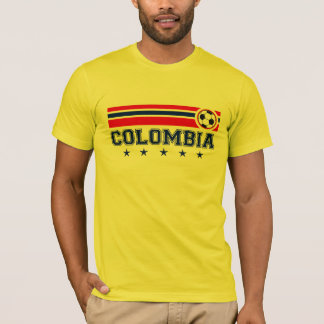 Camiseta Futebol de Colômbia