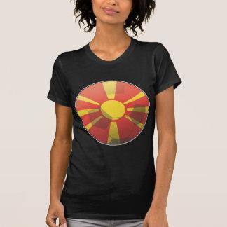 Camiseta Futebol de Macedónia
