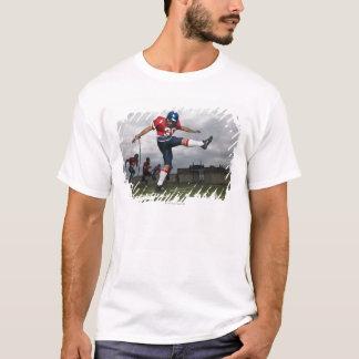 Camiseta Futebol de retrocesso 2 do jogador de futebol