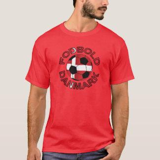 Camiseta Futebol Dinamarca de Fodbold Danmark