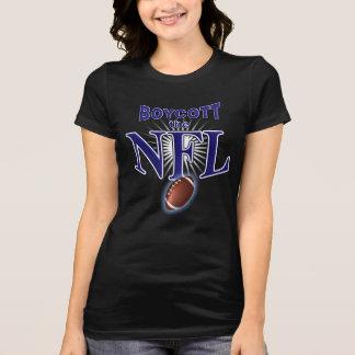 Camiseta Futebol do boicote - suporte para o t-shirt do