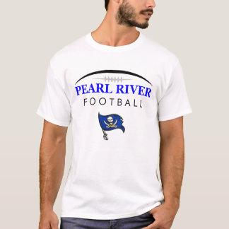 Camiseta Futebol do segundo grau de Pearl River