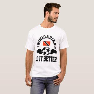 Camiseta futebol dos trinidians melhora