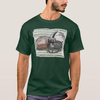 Camiseta Futebol e capacete por estúdios de Mudge