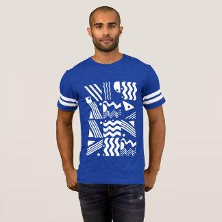 Camiseta Futebol impertinente T da estada asteca