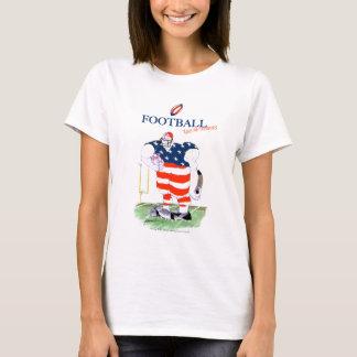 Camiseta Futebol nenhuns prisioneiros, fernandes tony