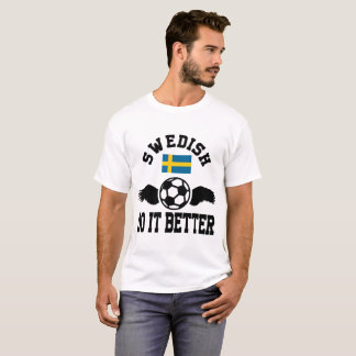Camiseta futebol sueco melhora