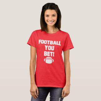 Camiseta Futebol você apostou o t-shirt