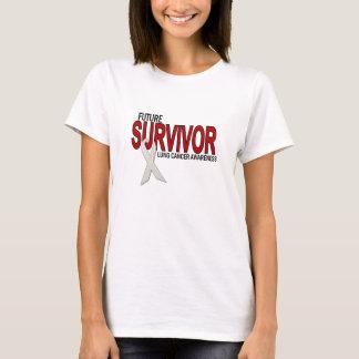 Camiseta Futuro do sobrevivente (câncer pulmonar)