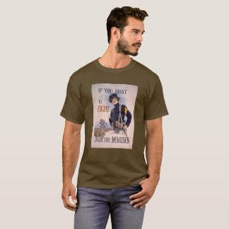 Camiseta Fuzileiros navais de combate