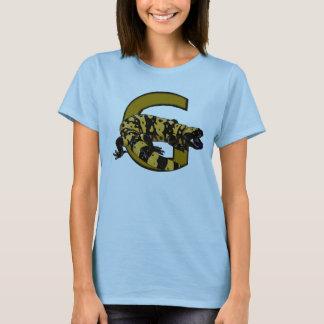 Camiseta G é para o monstro de Gila! (cores claras somente)