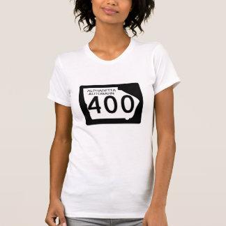 """Camiseta GA 400"""" estrada de Alpharetta """""""