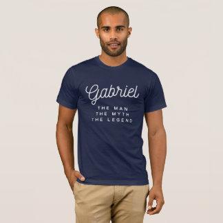Camiseta Gabriel o homem o mito a legenda