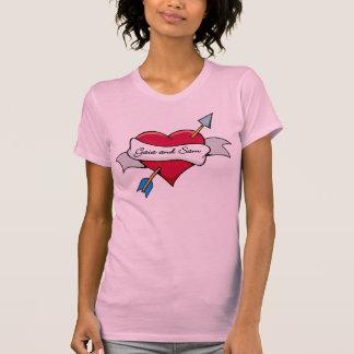 Camiseta Gaia e Sam