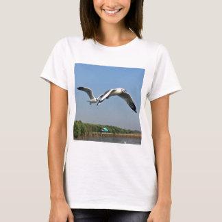 Camiseta Gaivotas em vôo