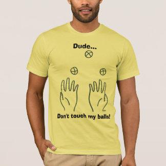 Camiseta Gajo… Não toque em minhas bolas!