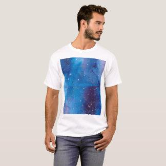 Camiseta Galáxia azul escuro