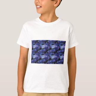 Camiseta galaxy pixel art in blue
