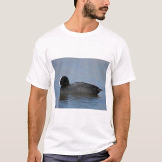 Camiseta Galeirão euro-asiático ou comum, atra do fulicula,