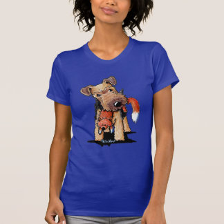 Camiseta Galês Terrier com Fox do brinquedo