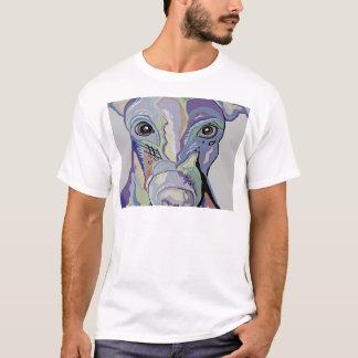 Camiseta Galgo em cores da sarja de Nimes