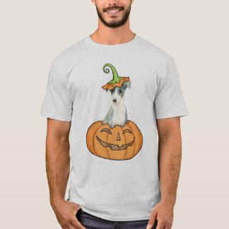 Camiseta Galgo italiano do Dia das Bruxas