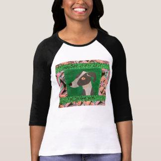 Camiseta Galgo italiano no t-shirt do parque do cão