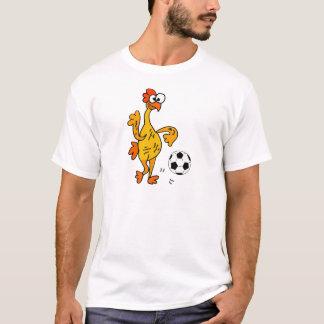 Camiseta Galinha de borracha engraçada que joga desenhos