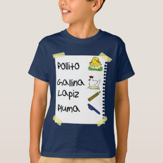 Camiseta galinha do pollito