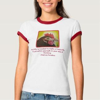 Camiseta Galinha estóico