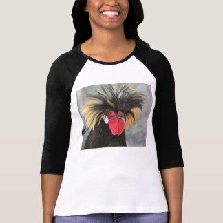 Camiseta Galinha polonesa Funky