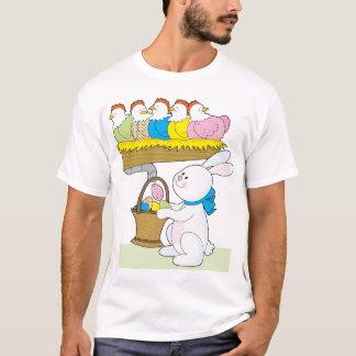 Camiseta Galinhas da páscoa do arco-íris