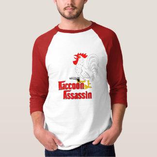 Camiseta Galo do assassino do guaxinim