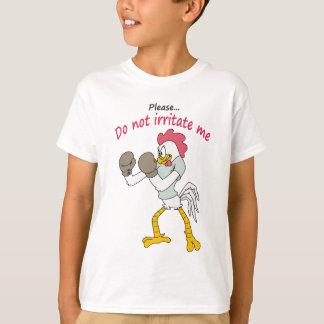 Camiseta Galo nas luvas