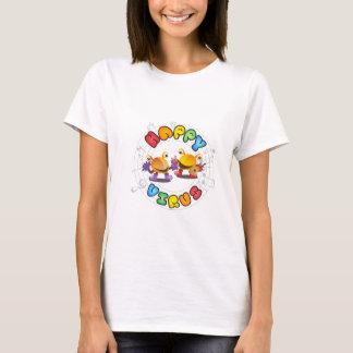 Camiseta Gama de produtos feliz do vírus