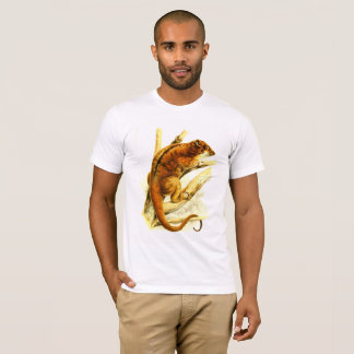 Camiseta gambá Luxuoso-revestido do ringtail