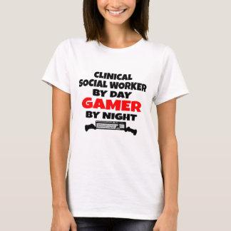 Camiseta Gamer clínico do assistente social