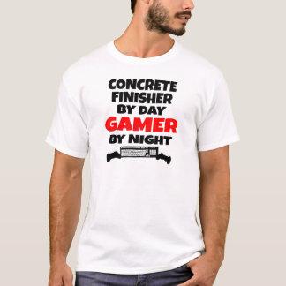 Camiseta Gamer concreto da estação de acabamento