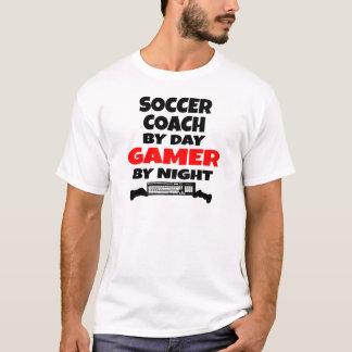 Camiseta Gamer do treinador do futebol