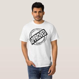 Camiseta Gamerstable aprovou o preto