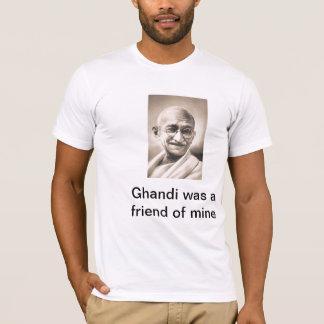 Camiseta Gandhi era um amigo meu