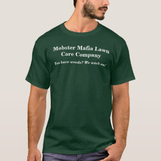 Camiseta Gangster Máfia Gramado Cuidado Empresa