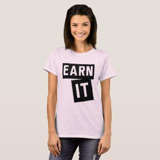 Camiseta Ganhe o/motivação