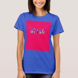 Camiseta GANHOS em cores brilhantes