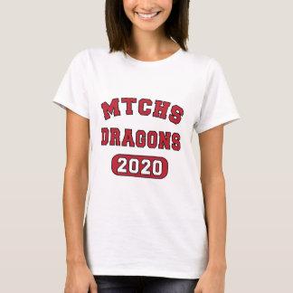 Camiseta Ganhos para a classe de 2020