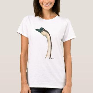 Camiseta Ganso:  Cabeça do chinês de Brown