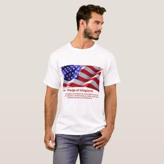 Camiseta Garantia dos EUA do Tshirt do homem da fidelidade