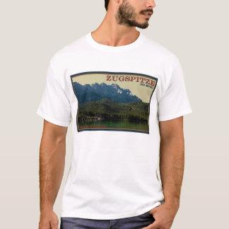 Camiseta Garmisch - Zugspitze acima do Eibsee
