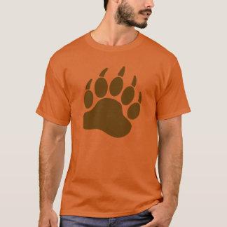 Camiseta Garra de urso do orgulho do urso de Brown (R)